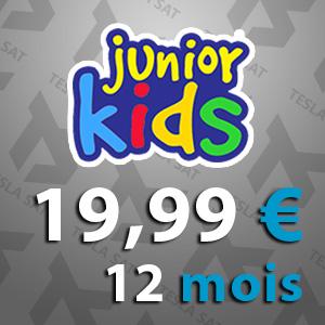 IPTV / VOD pour les enfants et Junior 12 MOIS