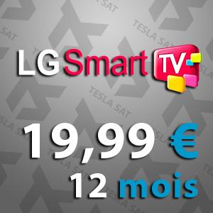 IPTV pour LG Smart TV
