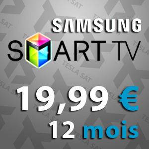 IPTV pour Samsung Smart tv