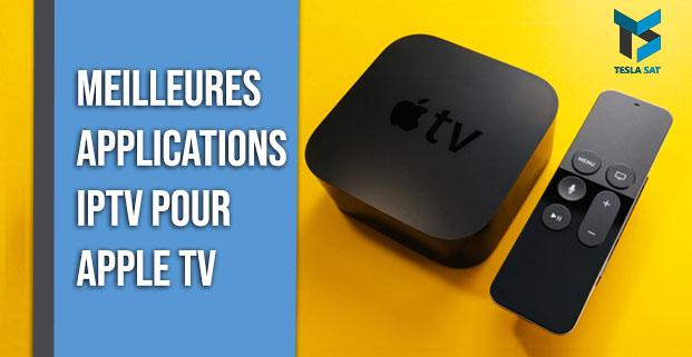applications IPTV pour Apple TV