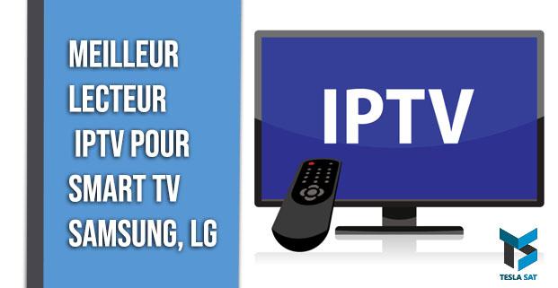 lecteur IPTV pour Smart TV Samsung,Lg